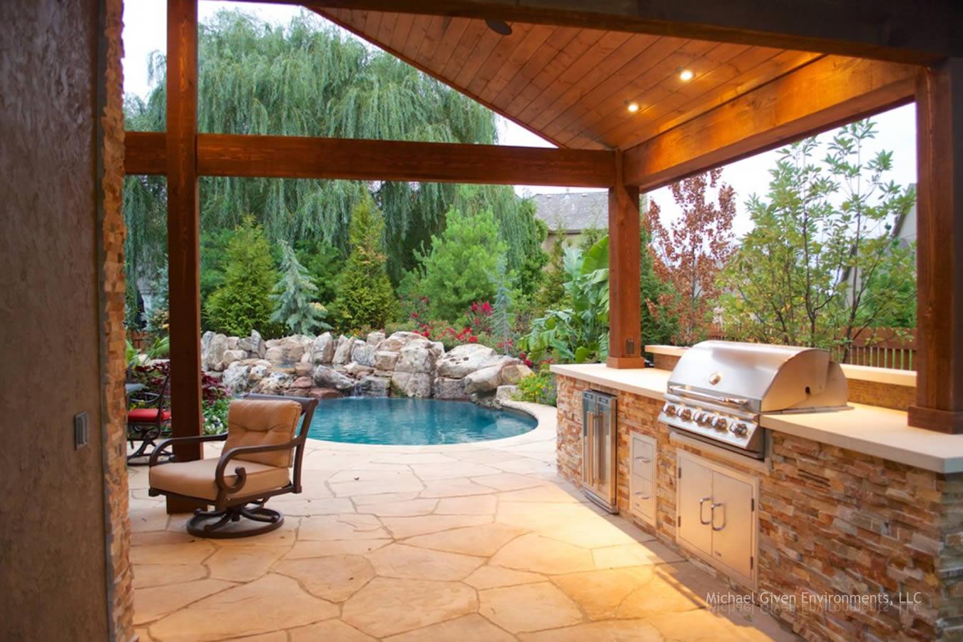 Design Backyard Oasis backyard oasis gallery by michael given environments llc kansas oasis