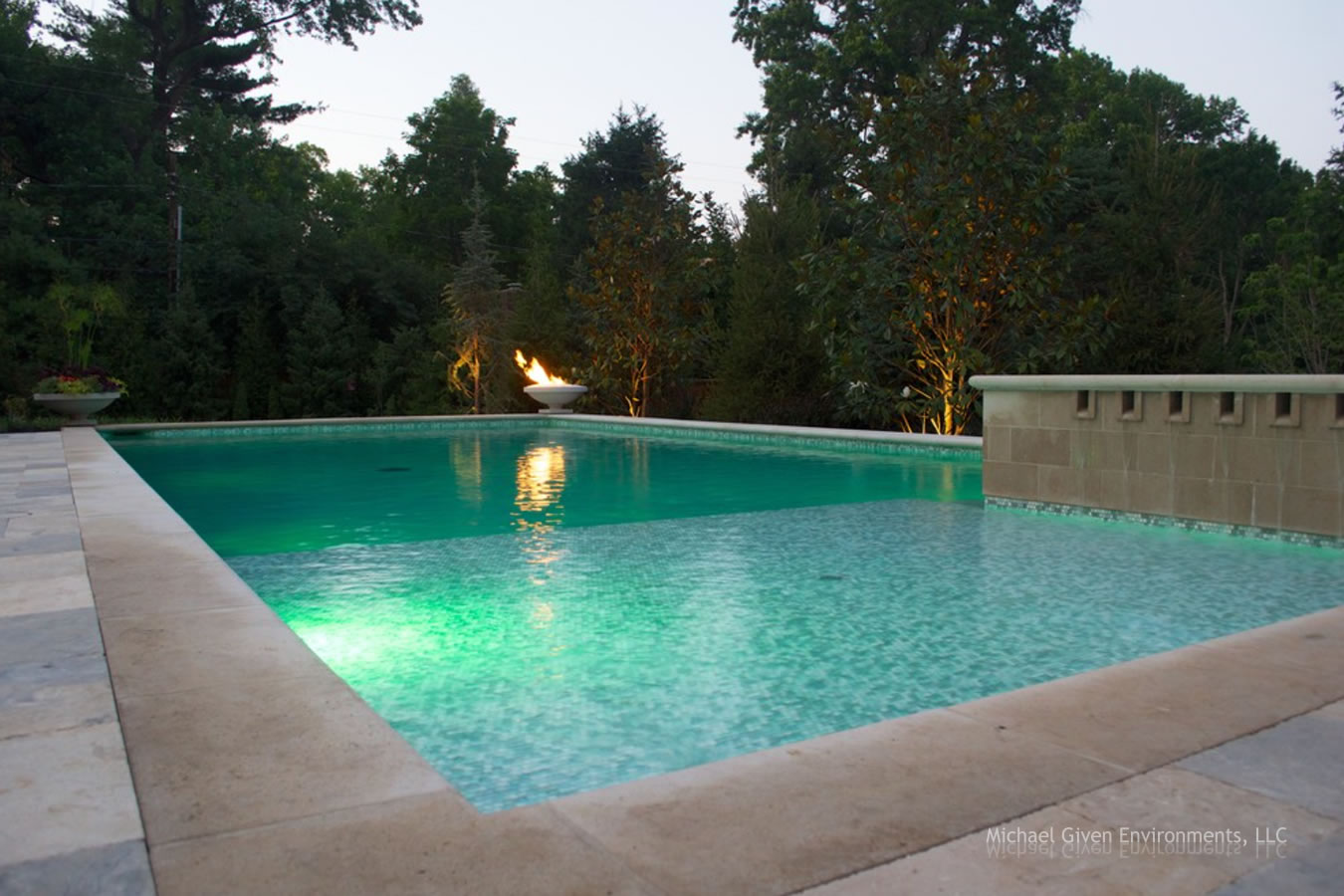 Pool outdoor living environment gallery by michael given for Pool design kansas city